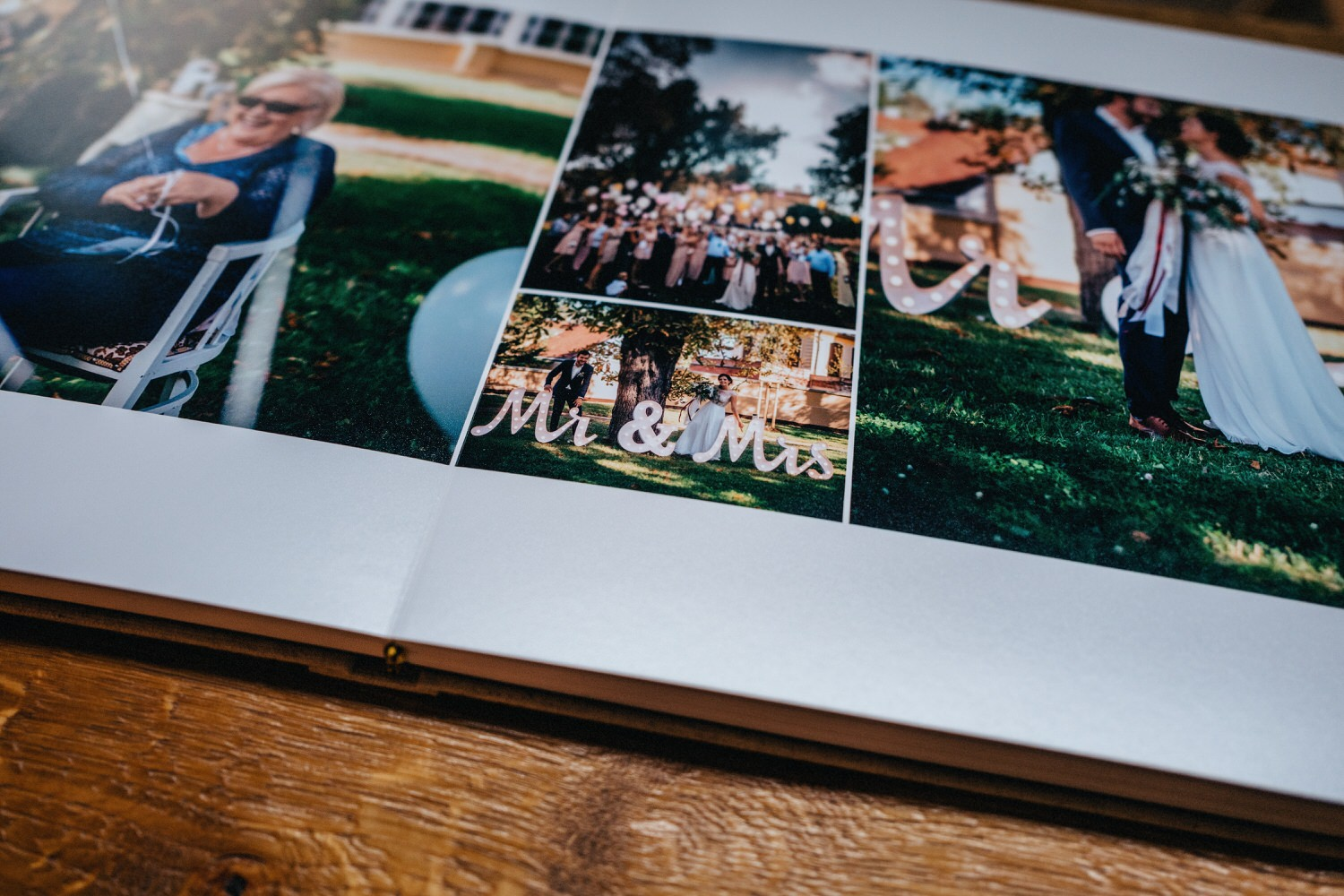 wedding book album layflat
